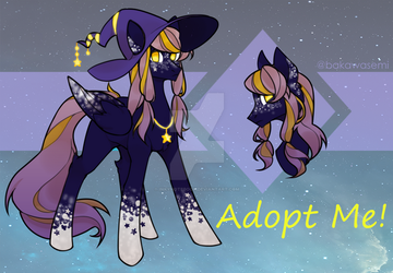 [CLOSED] Witch Pony Adopt by InkyNotebook