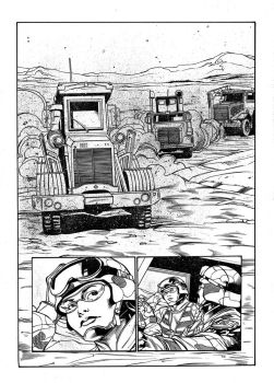 EOD Soldiers 02 - page - 05 ink by furuzono