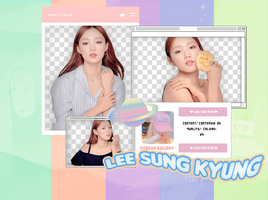 LEE SUNG KYUNG | PACK PNG by KoreanGallery