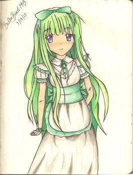 Maid Of Green by BulbaBeast69