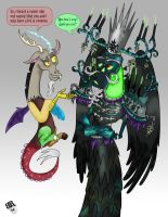 Chaos and Death by Piddies0709