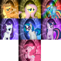 Pony Icon Pack 1 by TygerxL