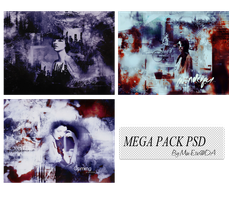 [MEGA PACK PSD] 20140803 by Miu-Etic