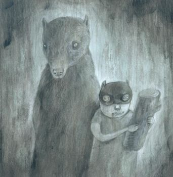 Super Hero, Bear by miorats