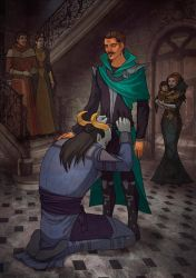DAI Adaar and Dorian - Why did I let you go ... by Anhel1310