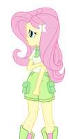 Fluttershy by Discorded-Joker