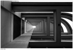 Frames (black and white) by nadav