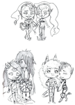 Couple chibis by Qu-Ross