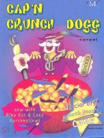 cap'n crunch dogg by megamike75
