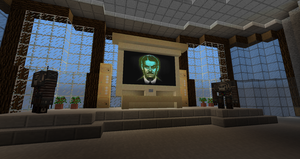 Mr. House from 'Fallout: New Vegas' in Minecraft by MisteriosM