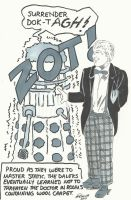 Daleks, the Doctor, and Static... by gravelgirty