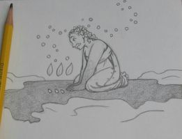Sketch - Blessed Imbolc (Orcish) by rachelillustrates
