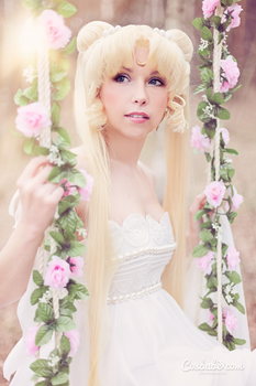 Princess Serenity (sailor Moon) I by Cosbabe