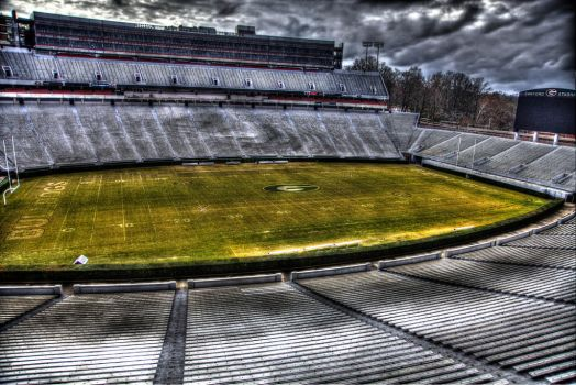 UGA Football Field by Photographer5D