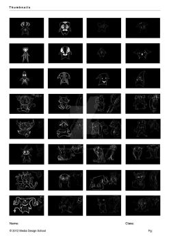 Thumbnail Page V01 by FortunsWitlessFool