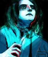 the ghost of you by Farewell-BlackParade