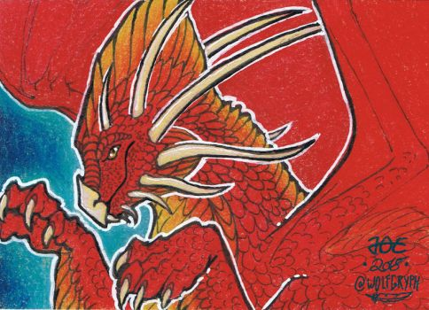 ACEO for LadyFromEast by wolfgryph