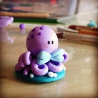 Little baby octopus by valefatina