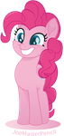 Pinkie Pie vector moviestyle by JoeMasterPencil