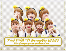 Pack PNG #41 Seung Hee (CLC) by NaKyung-san