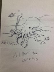 Albert the octopus by tozoa