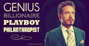 Genius, Billionaire, Playboy, Philanthropist by inzanita