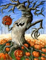Pumpkin tree by SMK11