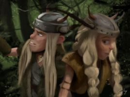 Sneaking Out (HTTYD2 Webnovel ch16) by inhonoredglory