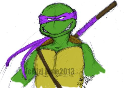 TMNT-Donatello by haidokun14