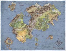 Twylos Map by judgefang