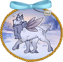 Winter Advent Day 6 - Snow Flurry by DarlingJess