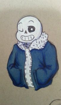 Just Sans by SageHedgehog