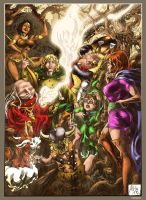 Dungeons and Dragons - colors by nahp75