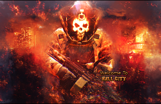 Welcome To Hell City by SlinkGFX