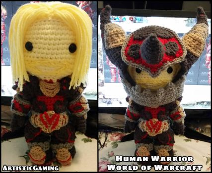 Human Warrior - World of Warcraft by GamerKirei