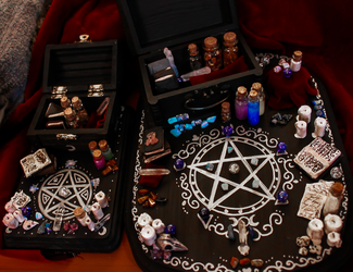 Witch's Altars. by Darxen