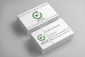 R E P L A Y - Business Cards by TheSwanMaideN