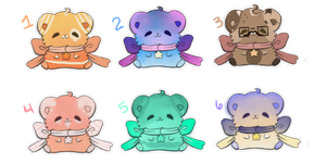 Cute hamster adopts| OPEN 3/6 by Timid-Adopts