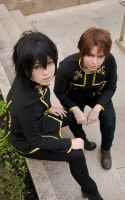 Lelouch and Roro - Code Geass by Chess28