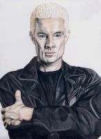 James Marsters as Spike (Buffy the vampire slayer) by kleopetra007
