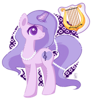 POP! Commission Lavender Lovesong by Exceru-Karina