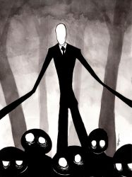 Slender Man by mbielaczyc