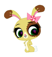 ButterCream The Bunny Vector! by CyberCaramel