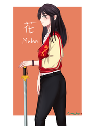 Mulan by shouichirou209
