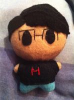 YouTubers - Markiplier Plushie by Jack-O-AllTrades