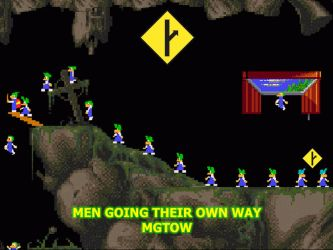 MGTOW Lemmings by millenia89