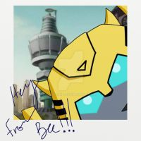 Hey from Bee by clipchip