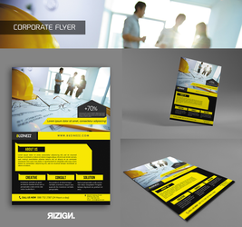 Corporate Flyer by rizign