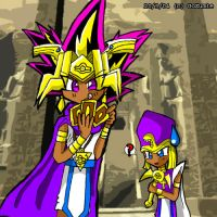 atem could play with card by GoZumie