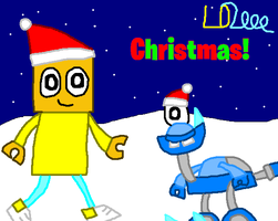 Art Jam: Luqman2 and Snoof Christmas by Luqmandeviantart2000